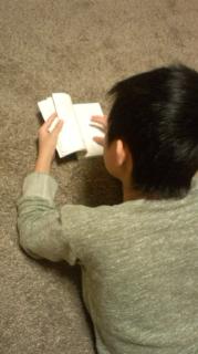 まったり読書。